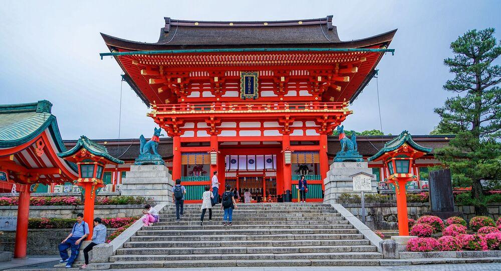 Templo japonês (imagem referencial)