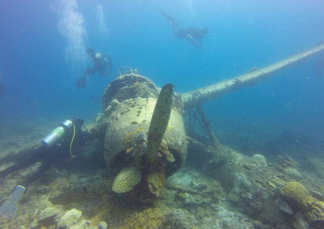 Navio naufragado (imagem referencial)