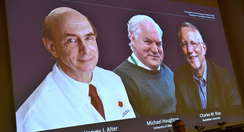 Harvey J. Alter, Michael Houghton e Charles M. Rice, vencedores do Prêmio Nobel de Medicina 2020