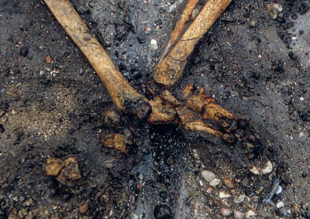 Arqueólogos descobrem um túmulo viking na pequena vila de Gerdrup