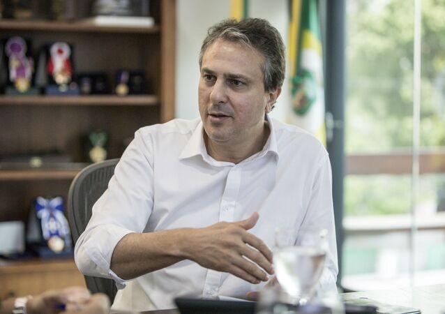 Governador do Ceará, Camilo Santana (PT).