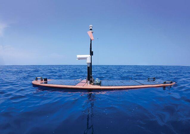 Drone Wave Glider da empresa norte-americana Liquid Robotics