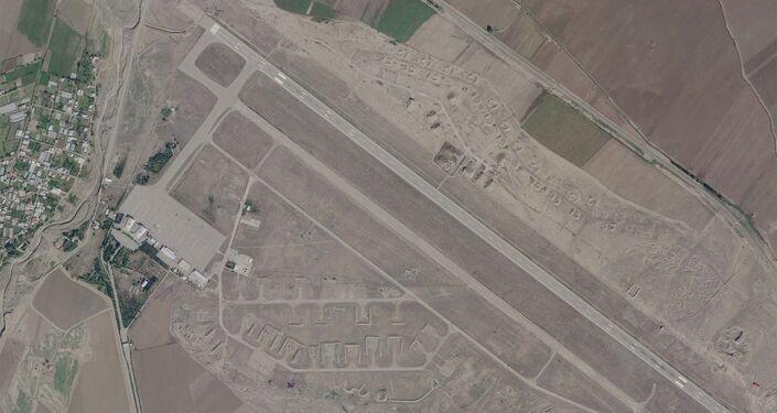 Imagem de satélite mostra Aeroporto Internacional Ganja
