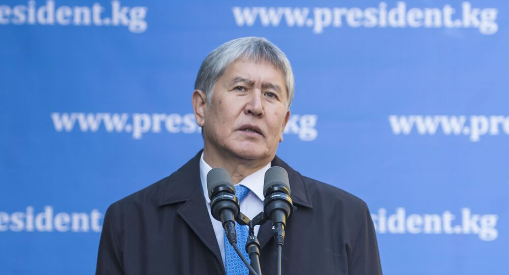Ex-presidente do Quirguistão Almazbek Atambaev