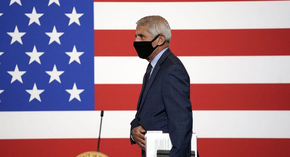 Anthony Fauci, diretor do Instituto Nacional de Alergia e Doenças Infecciosas dos EUA