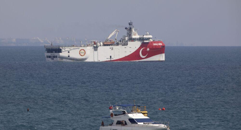 Embarcação turca de pesquisa sísmica, Oruc Reis