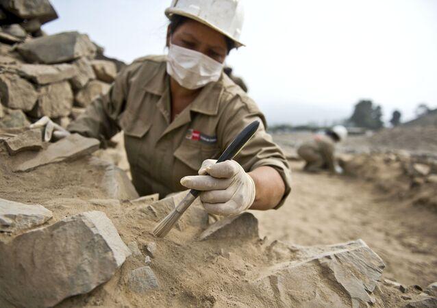 Arqueólogos (imagem de arquivo)