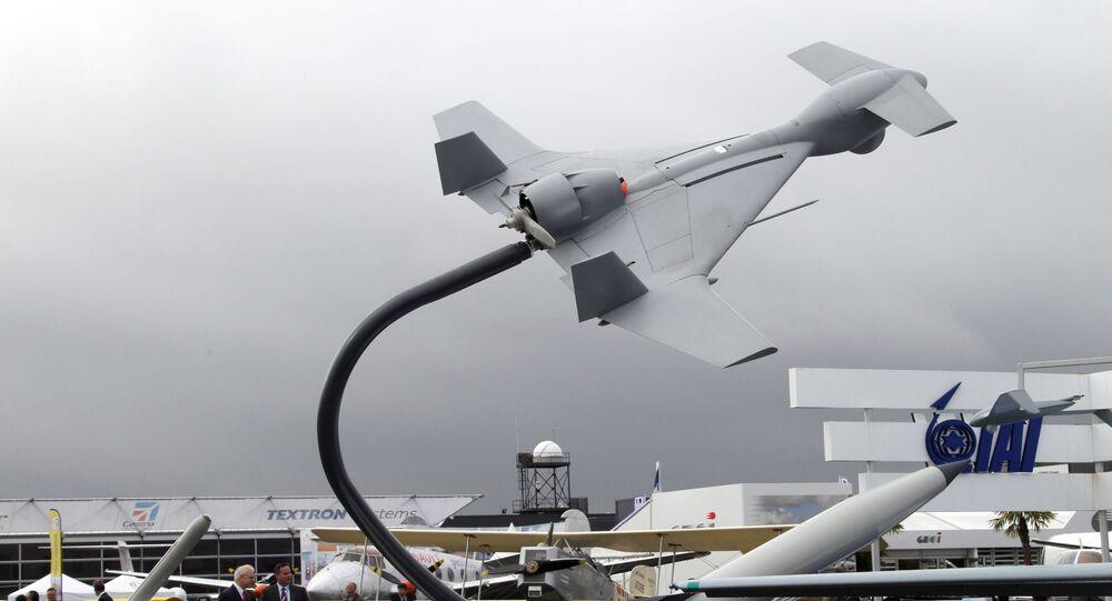 Drone Harop de fabricação israelense
