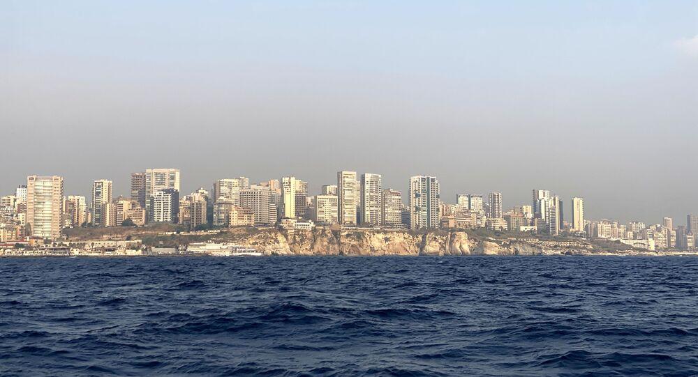 Vista da costa libanesa (imagem referencial)