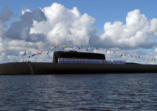 Submarino nuclear Orel da Marinha russa