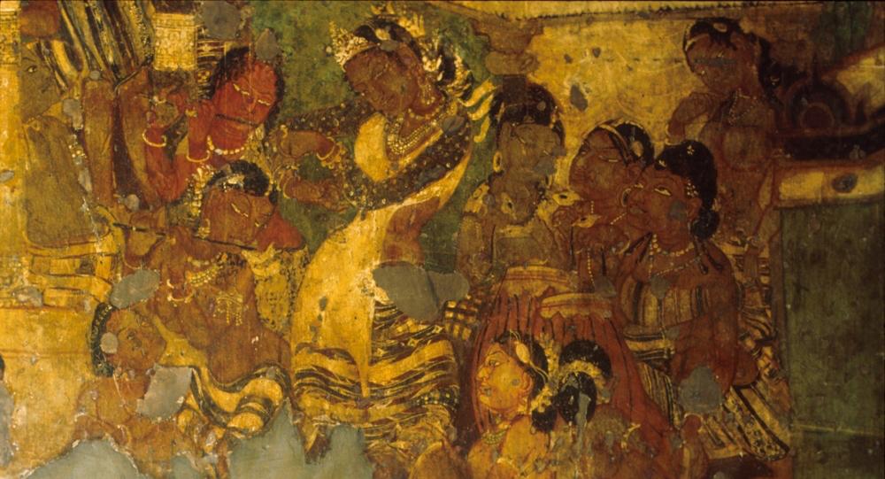 Pintura rupestre de Ajanta
