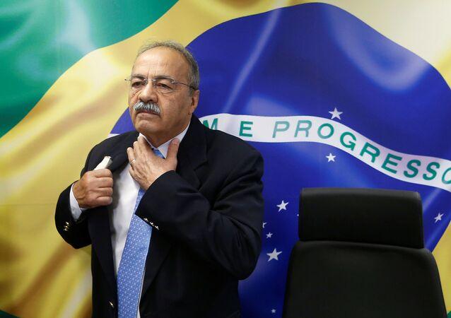 Senador Chico Rodrigues (DEM-RR), foto de 19 de Agosto de 2019, retirado da vice-liderança do governo no Senado por determinação do presidente Bolsonaro