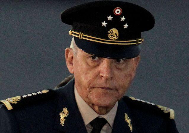 Ex-secretário de Defesa do México, Salvador Cienfuegos