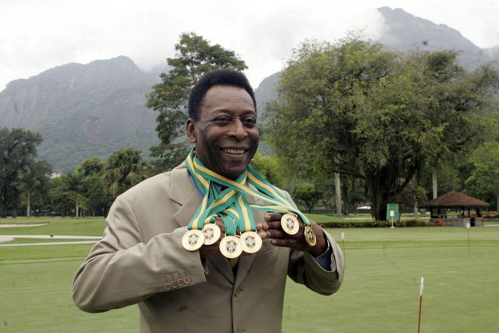 O rei do futebol Pelé