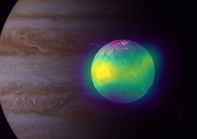 Lua Io de Júpiter