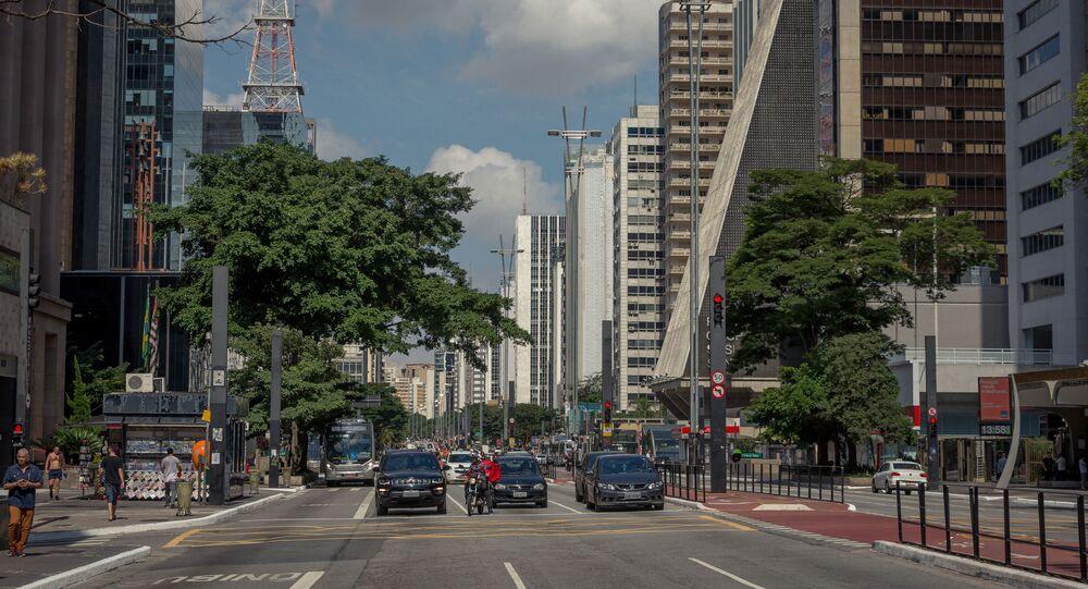 Avenida Paulista, em São Paulo