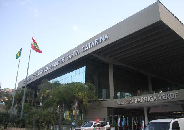 Assembleia Legislativa de Santa Catarina, em Florianópolis