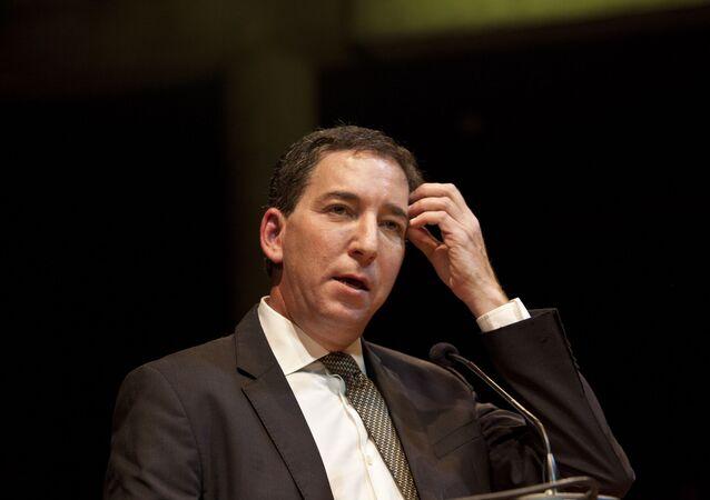 Jornalista americano Glenn Greenwald recebe prêmio especial Vladimir Herzog 2019, no Tucarena, em São Paulo