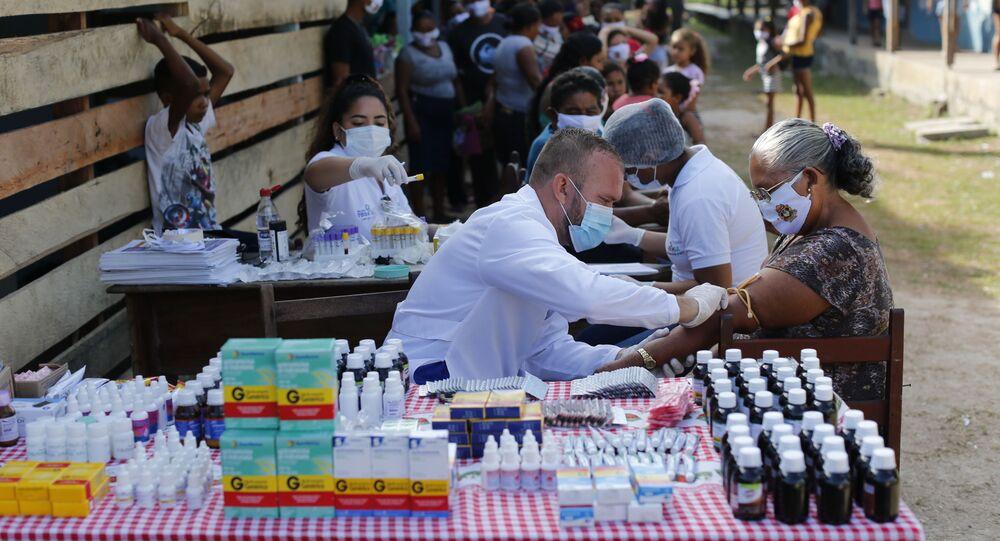 Secretaria de saúde de Igarapé-Mirim, no Pará, faz ação de combate ao coronavírus