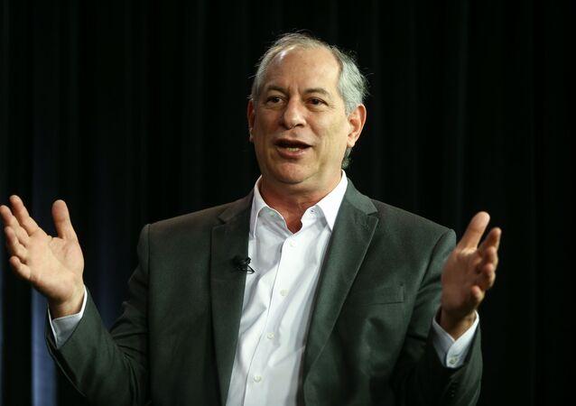 Ex-ministro e ex-governador do Ceará Ciro Gomes