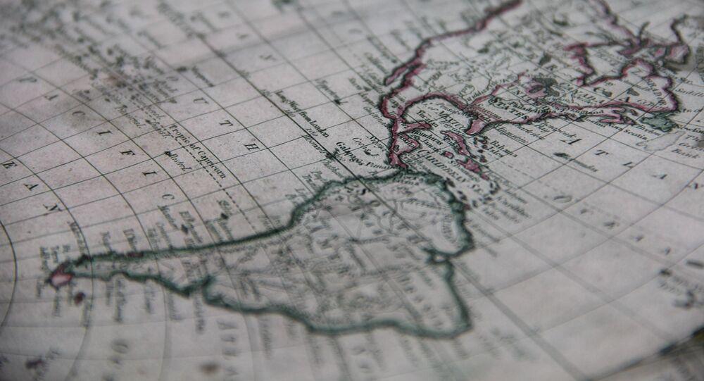Mapa da América Latina (imagem referencial)