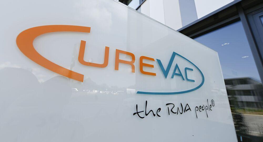 Sede do laboratório alemão CureVac em Tuebingen.