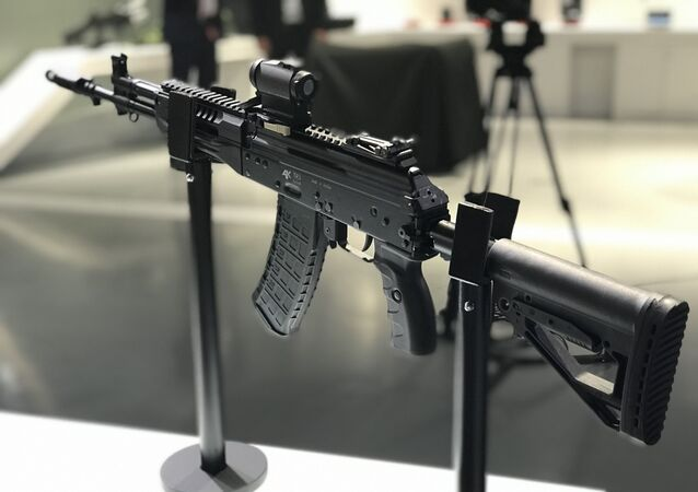 Versão civil do fuzil Kalashnikov AK-12