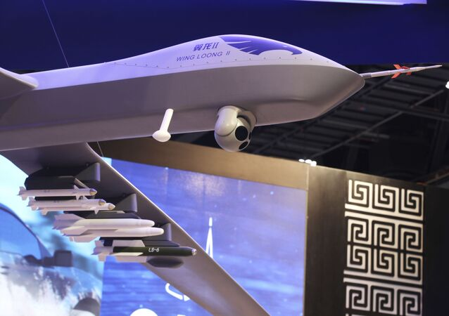 Drone chinês Wing Loong