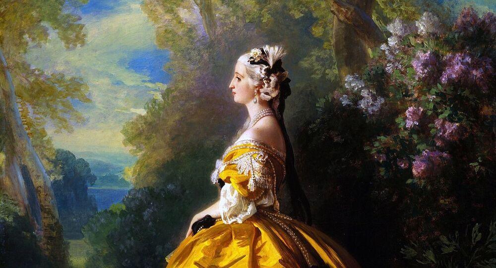 Pintura de Maria Antonieta (imagem referencial)