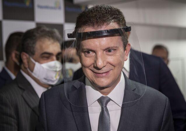 Celso Russomanno, candidato a prefeito de São Paulo pelo Republicanos