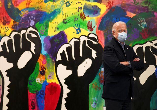 Joe Biden, candidato democrata à presidência dos EUA