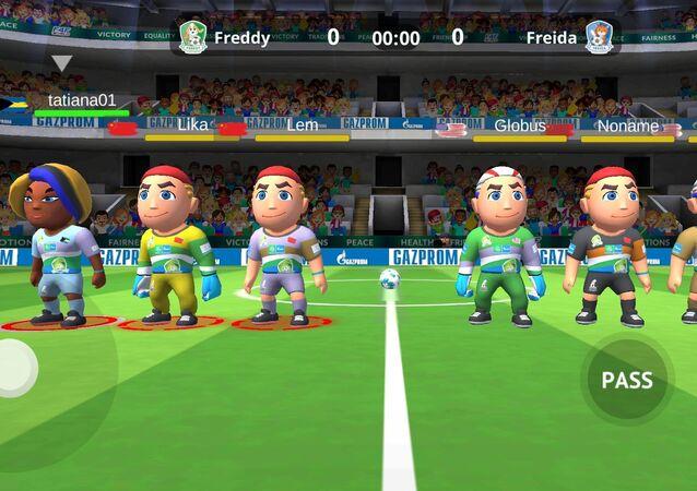 Programa Social Internacional para Crianças Futebol pela Amizade da Gazprom