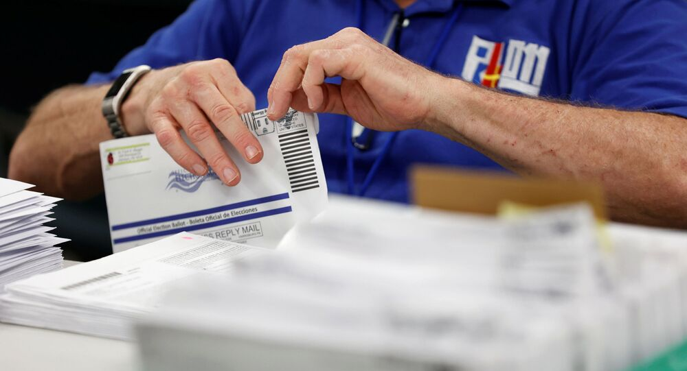 Contagem de votos na Pensilvânia