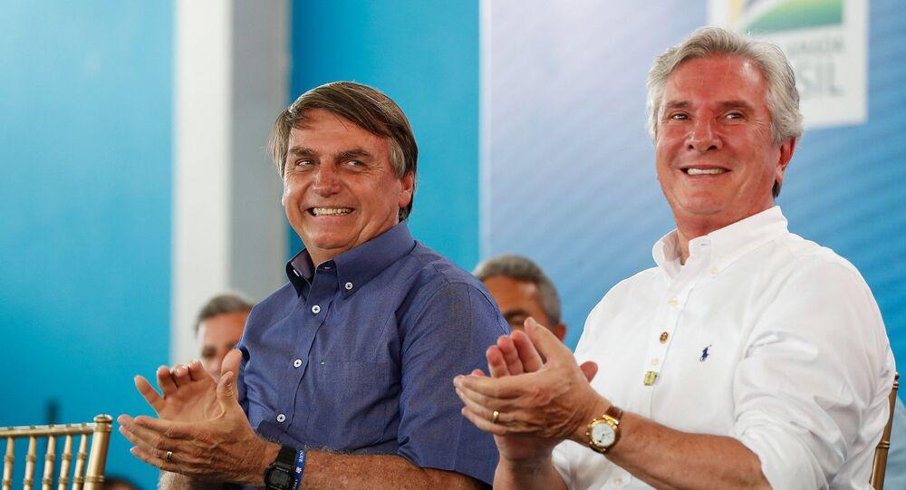 Bolsonaro convidou Collor para inauguração de obra em Piranhas, no sertão de Alagoas, e fez elogios ao ex-presidente