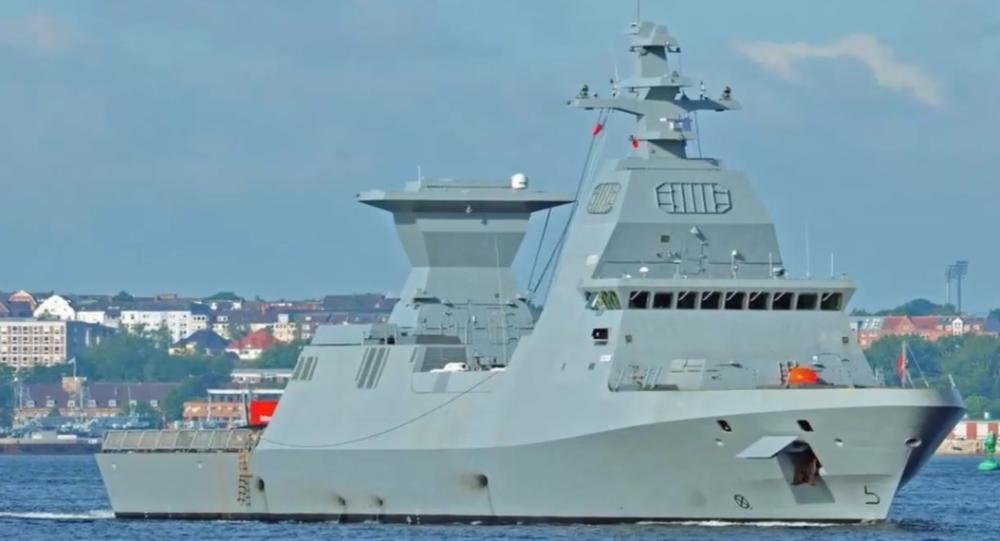 Nova corveta israelense da classe Sa'ar 6, INS Magen
