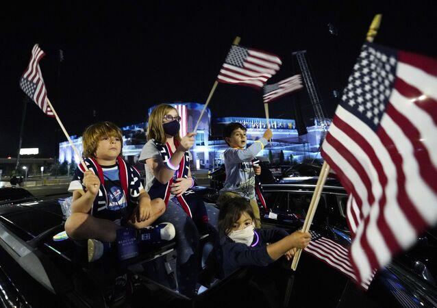 Apoiadores de Joe Biden se preparam para discurso em Wilmington