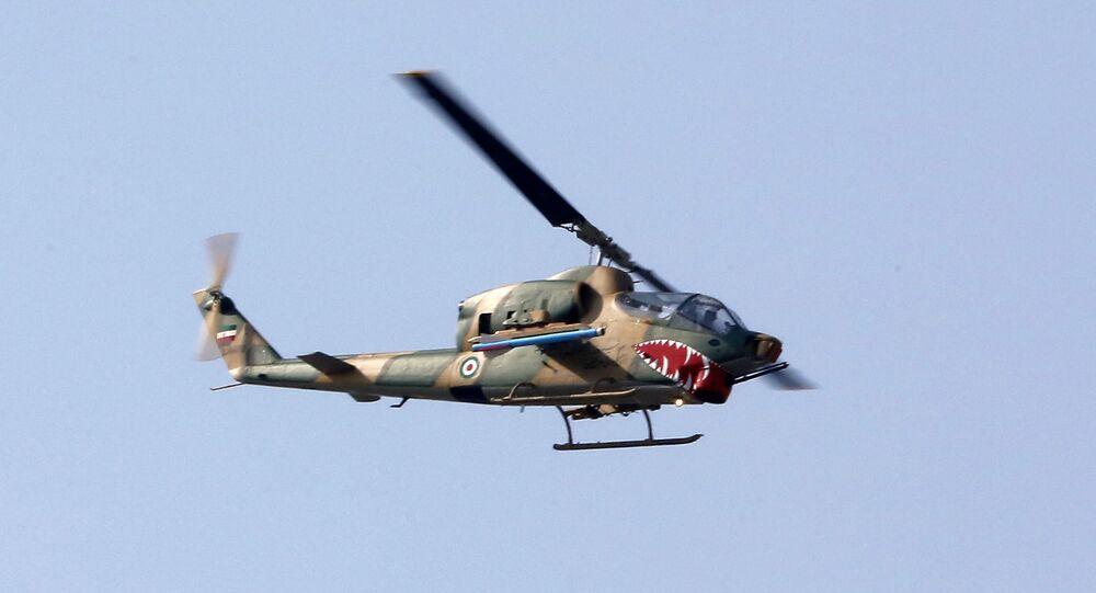 Helicóptero iraniano