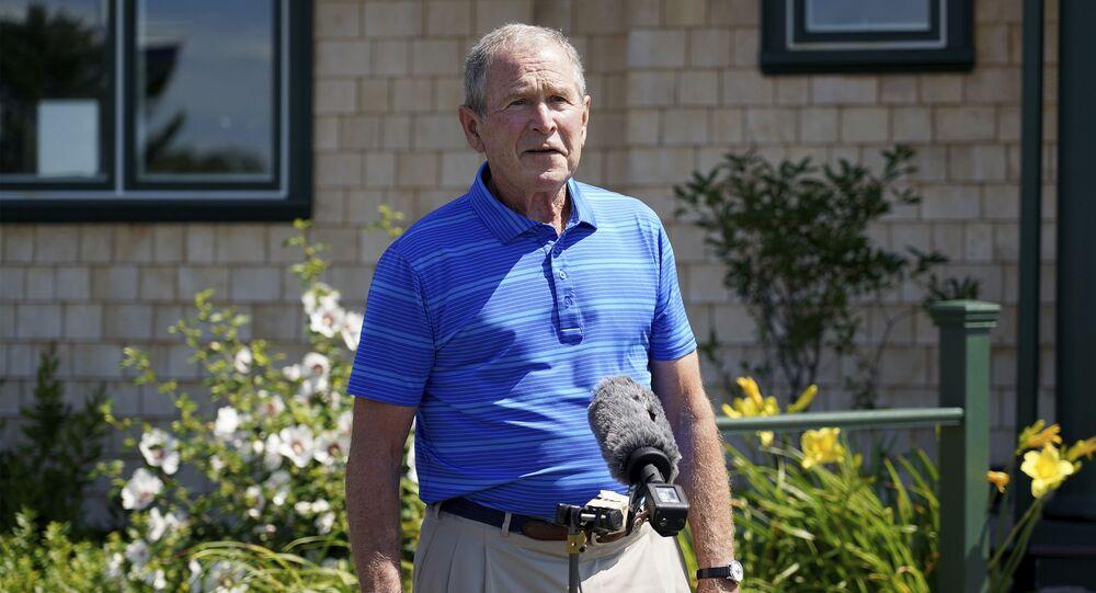 Ex-presidente dos EUA George W. Bush