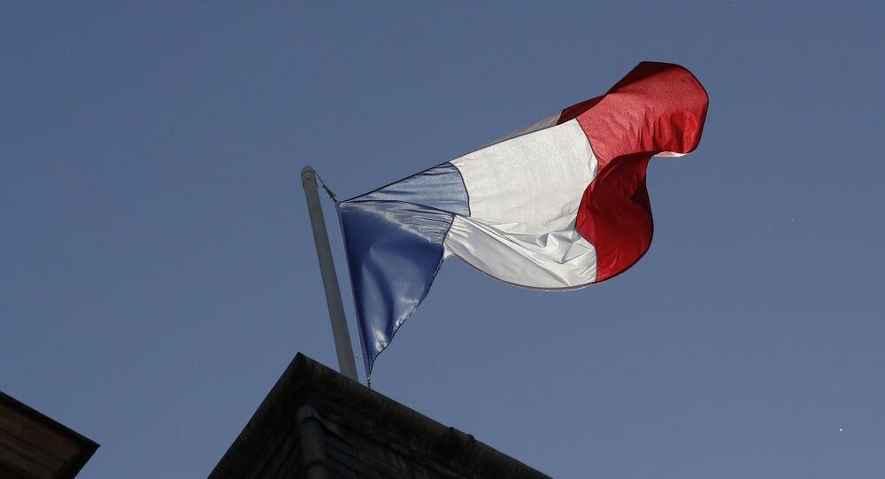 Bandeira da França (imagem referencial)