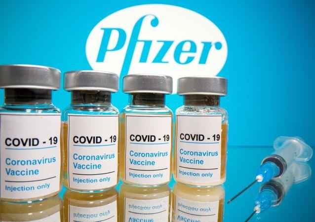 Vacina contra COVID-19 da Pfizer (foto de arquivo)