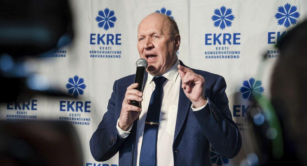 Mart Helme, ex-ministro do Interior da Estônia