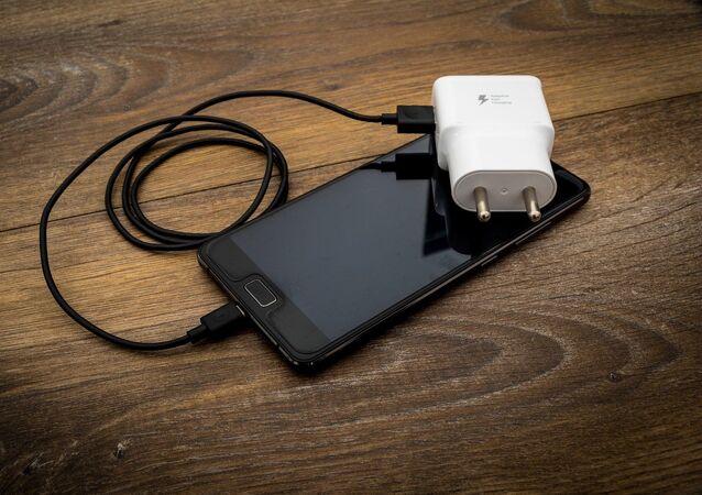 Celular com carregador portátil