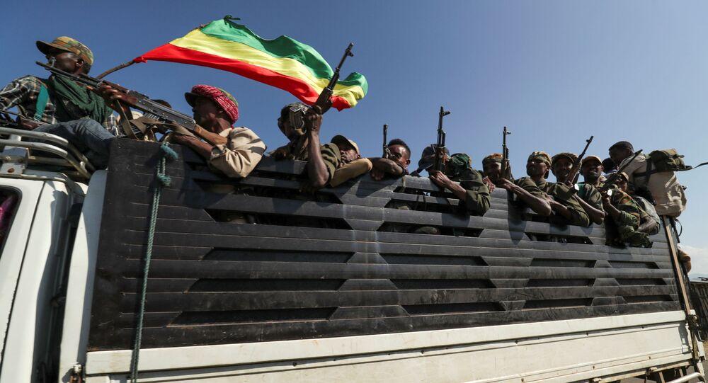 Milícias em Amhara se dirigem para zona de confronto com a TPLF em Tigré
