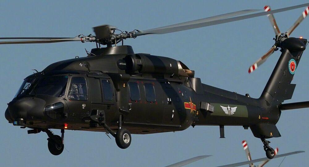 Helicópteros chineses Harbin Z-20