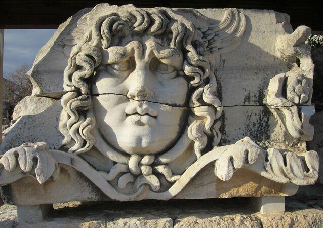Cabeça da Medusa (imagem referencial)