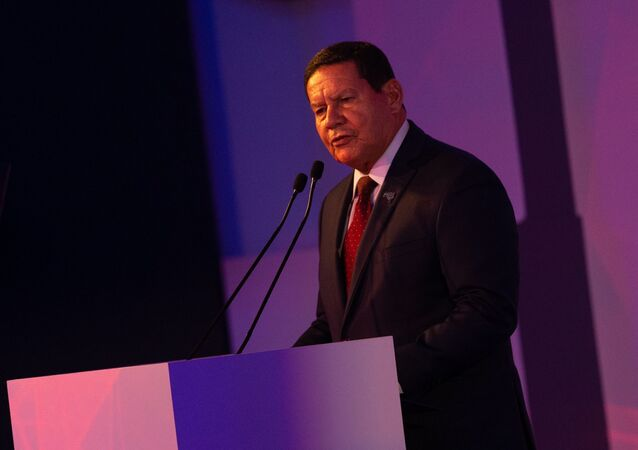 O vice-presidente Hamilton Mourão.