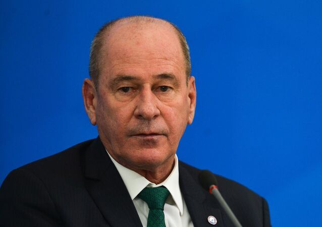 Fernando Azevedo e Silva, ministro da Defesa.