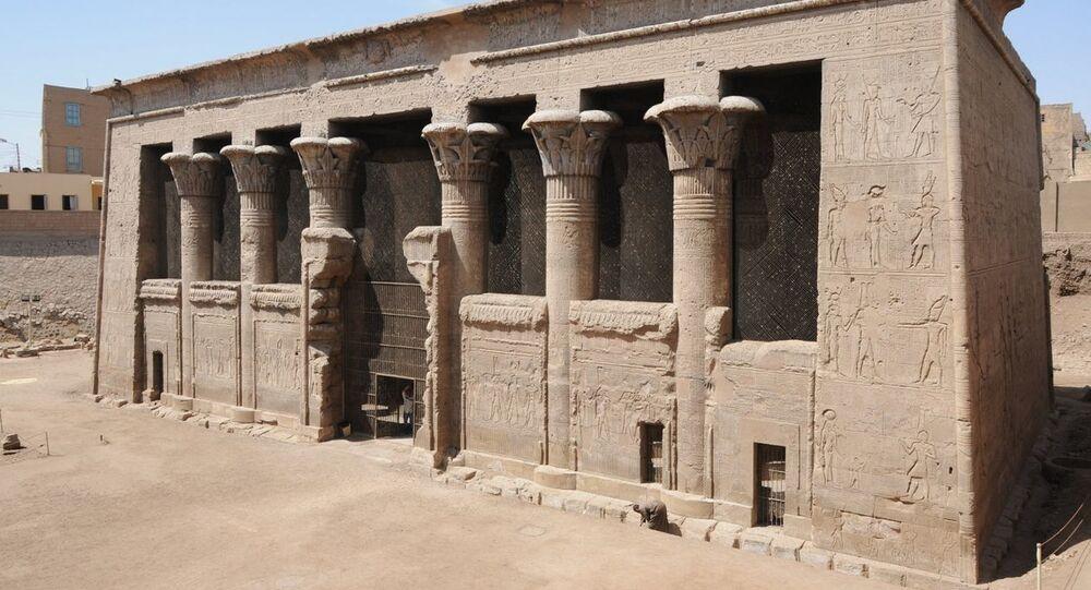 Templo de Esna, Egito