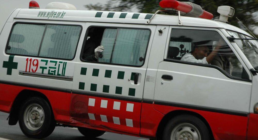 Ambulância na Etiópia (imagem de arquivo)