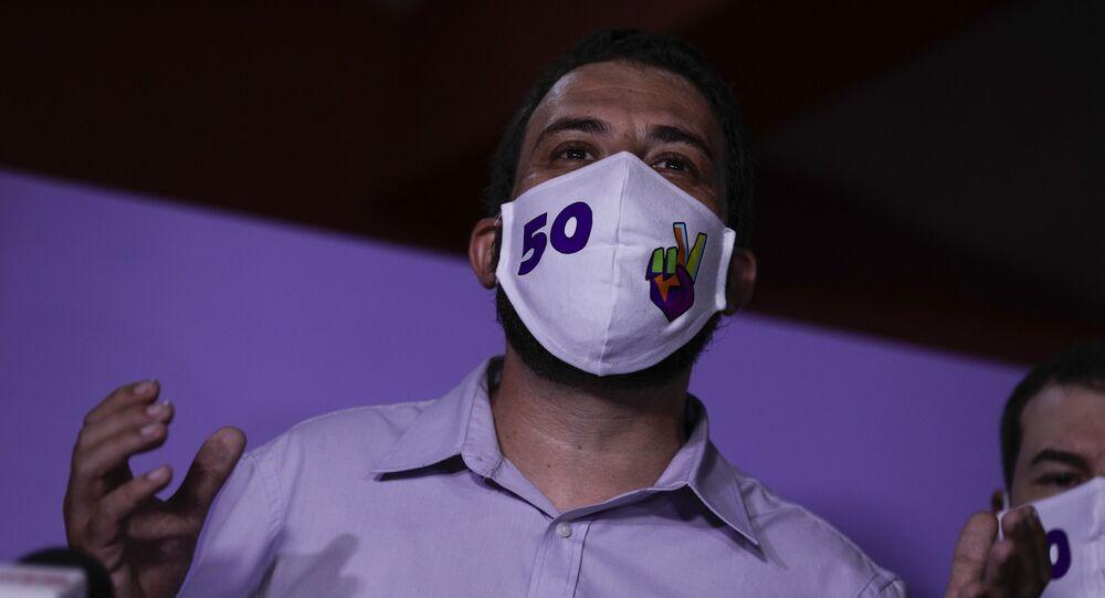 Candidato à prefeitura de São Paulo pelo PSOL, Guilherme Boulos